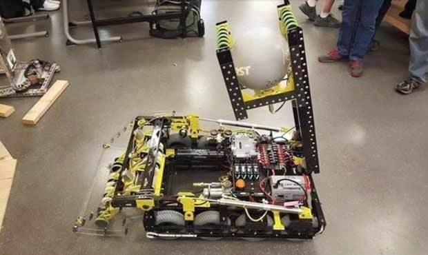 """High School Robotics Team's """"Xcalibear"""" Stolen, But Maker Spirit Prevails"""