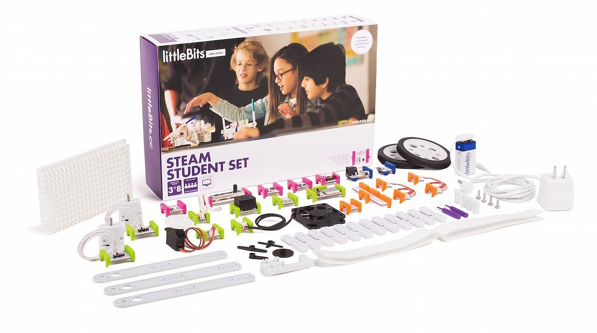 LittleBits Launches STEAM Kit For Education