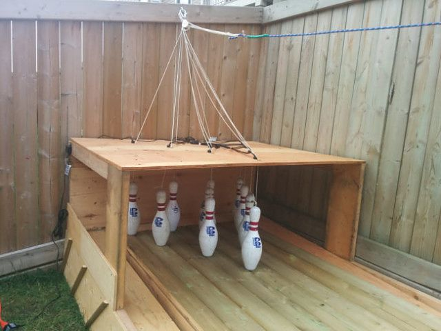 Build Your Own Backyard Bowling Alley | Make: