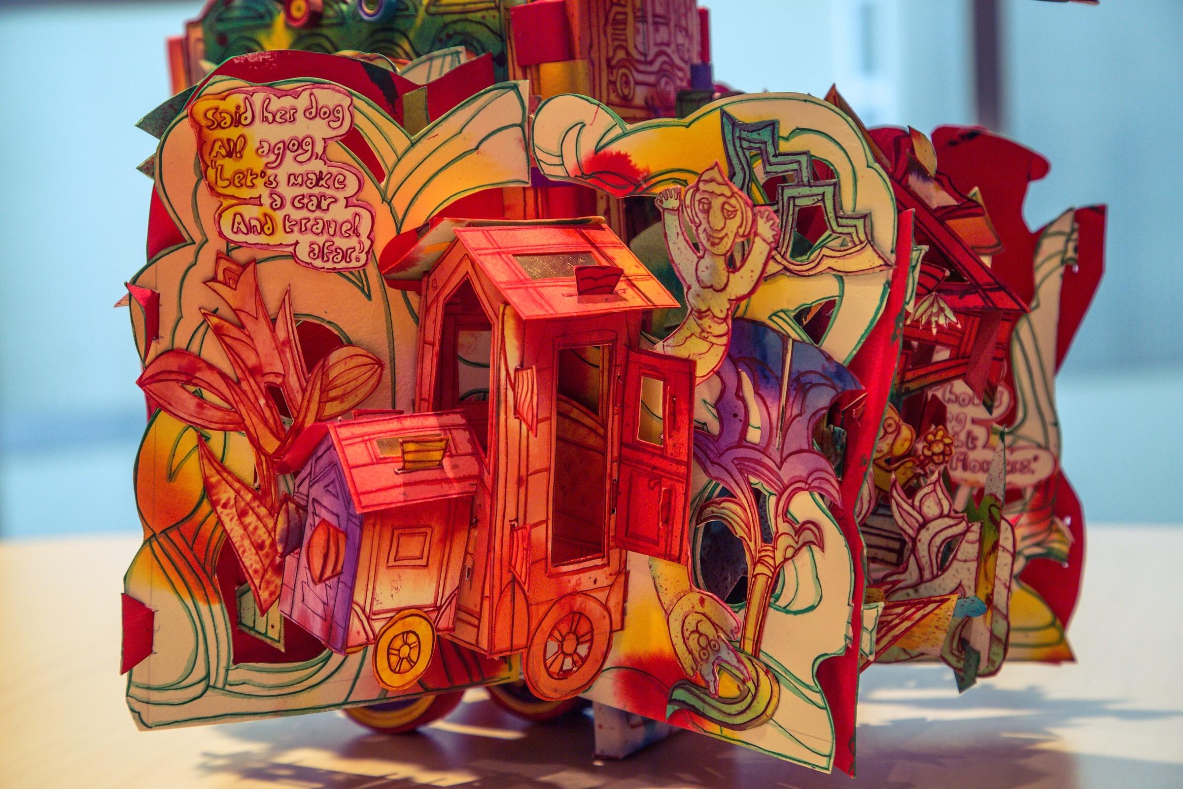 Unfolding the Story Behind Paul Johnson's No-Fold Pop-Up Books