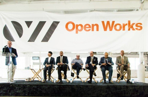 Open Works Groundbreaking.