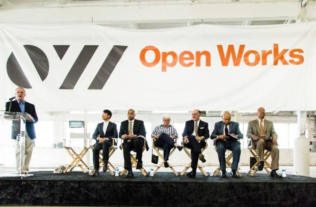 Open Works Groundbreaking.