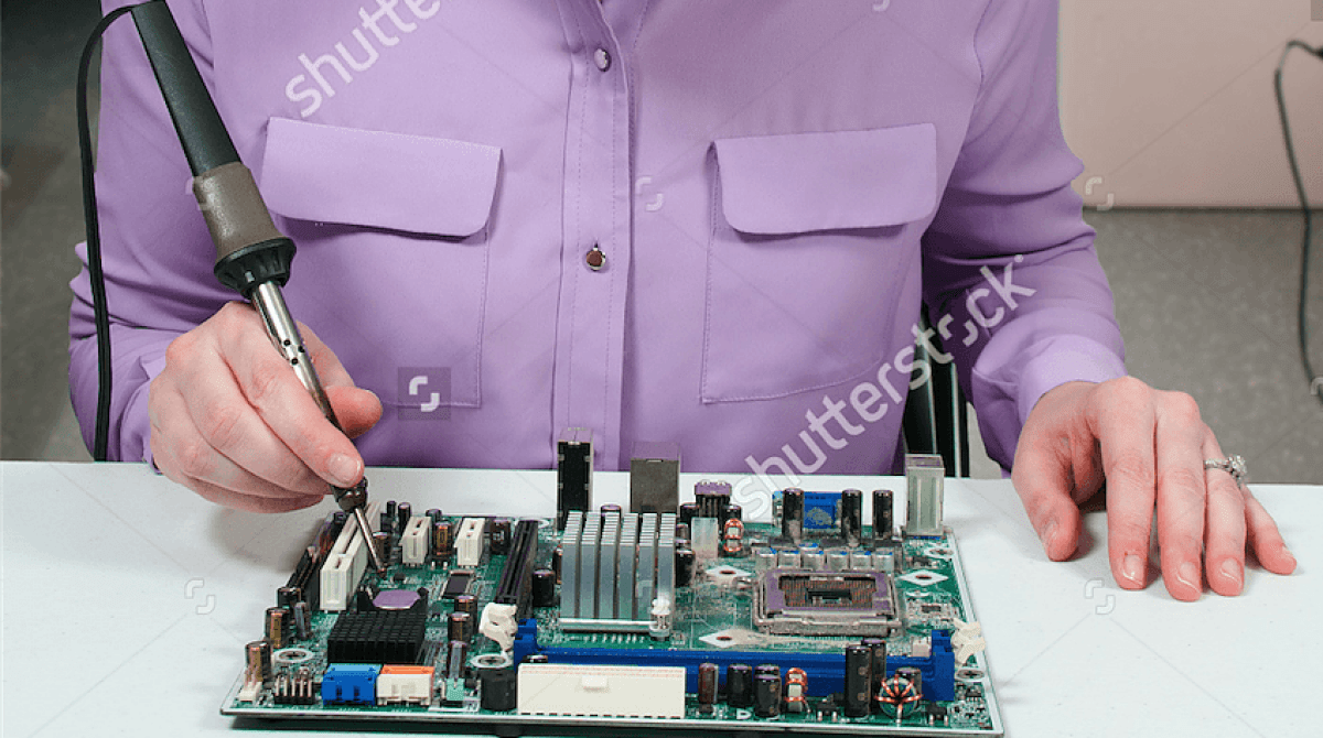 Printed Circuit Board Stock Photos Images Pictures Shutterstock This Beautiful Woman Soldering Photo Is Awful Make Article Featured Image