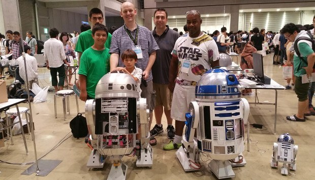 R2 Builders at the Tokyo Maker Faire