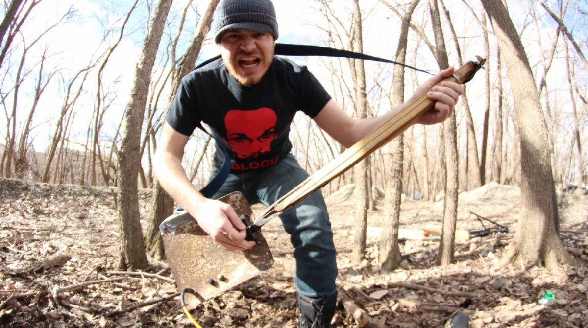 How To Make a Guitar from a Shovel