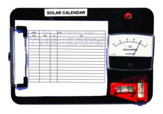 Measure Sunlight with a DIY Solar Radiometer