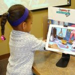 Attendees created stop motion animations at the Warren County Headquarters Library. Photo credit: Kelly Durkin