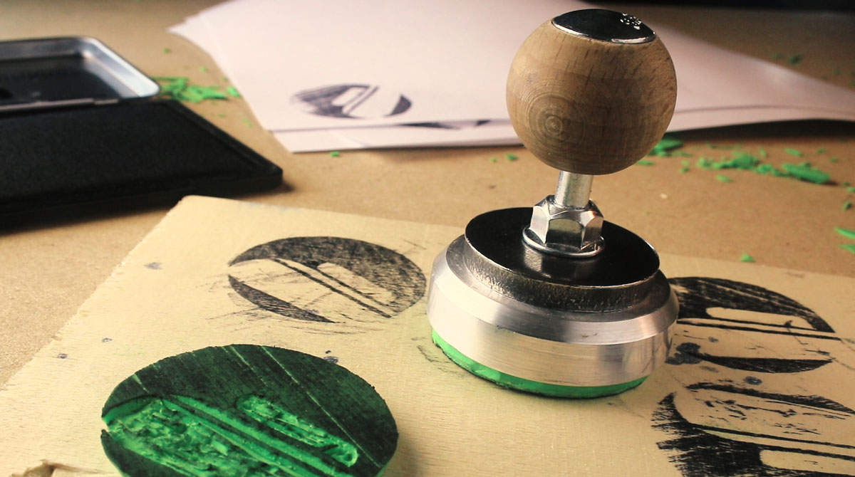 Upgrade Your DIY Rubber Stamps With Simple Modern Handles