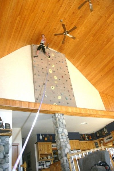 Wall Design Homemade : Diy rock climbing walls to bring the mountains closer
