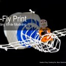 New 5-Axis 3D Printer Creates Simple Wire Frame Models in Real Time