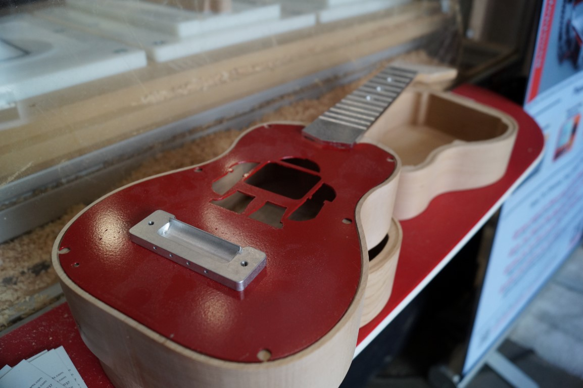 Making Ukuleles with CNC Router Parts
