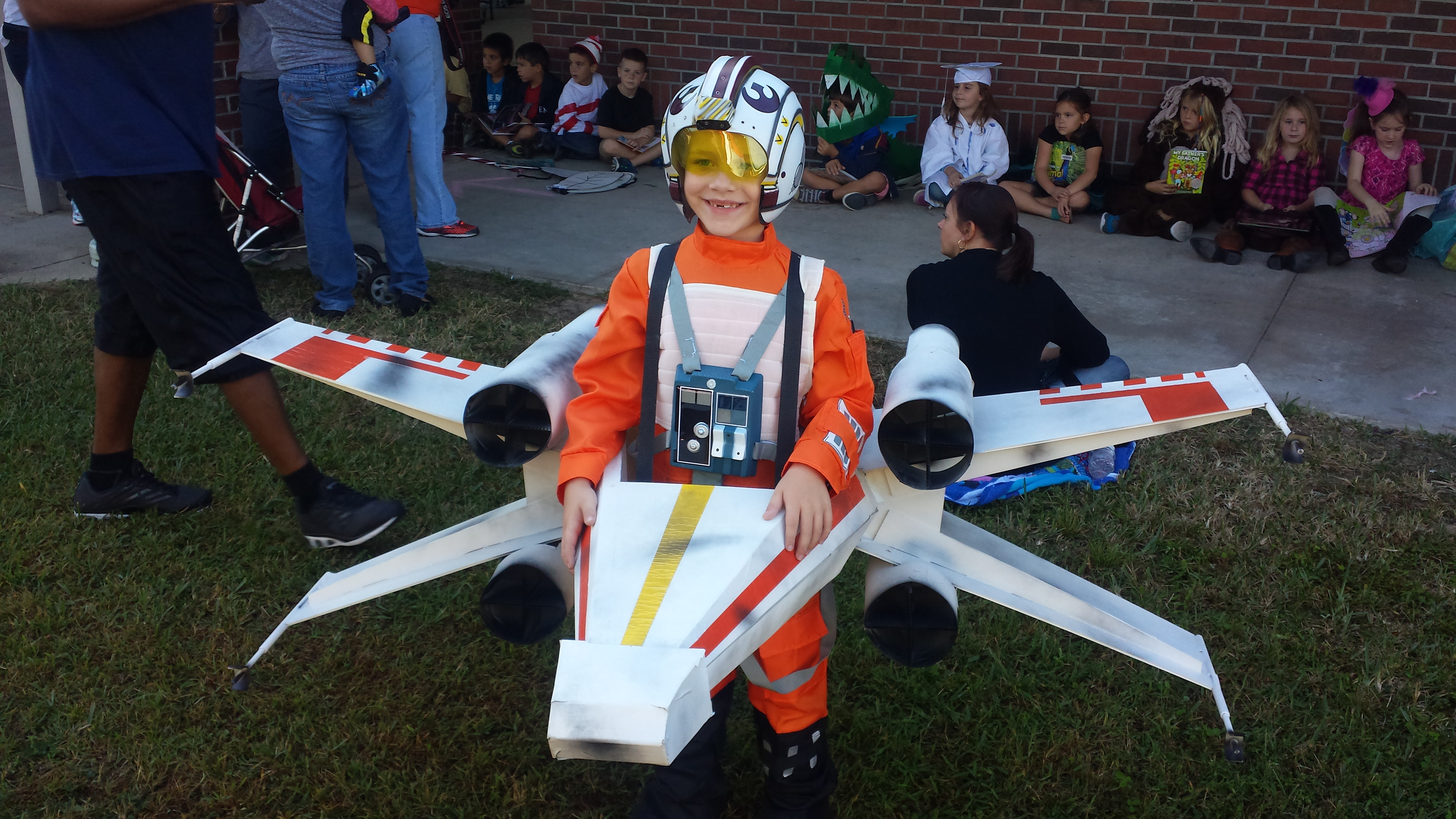 Adorable X-Wing Pilot Costume Comes Complete with Real Wings