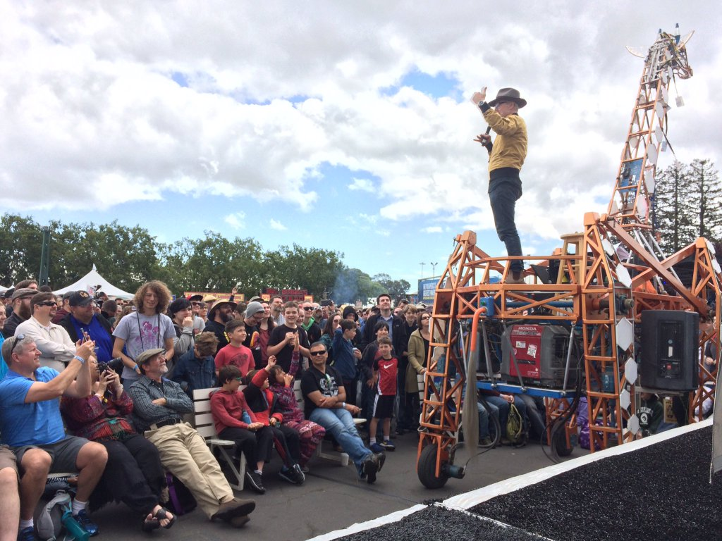 Adam Savage Telling Stories at Maker Faire Bay Area