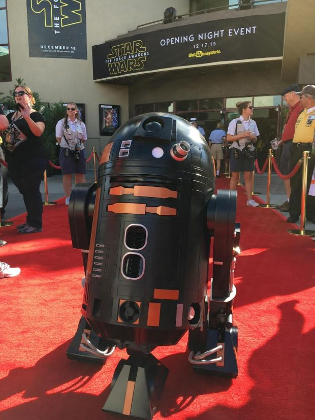 R2-Q5: a custom replica from the 501st Legion Everglades Squad Star Wars Costuming Group