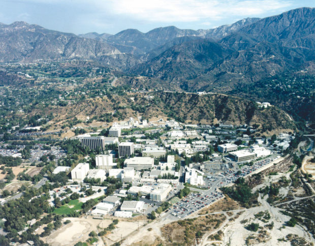 The Jet Propulsion Laboratory provides NASA with everything from spaceship and satellite construction to mission control operations. Photo courtesy of NASA