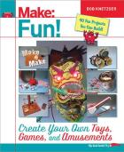 These RumbleBots were inspired by Bob Knetzger, whose new book, Make: Fun!, is now available.