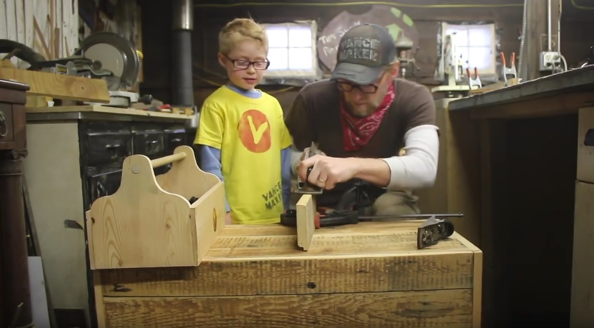 """""""Vance Maker"""" and the Joys of Making with Kids"""