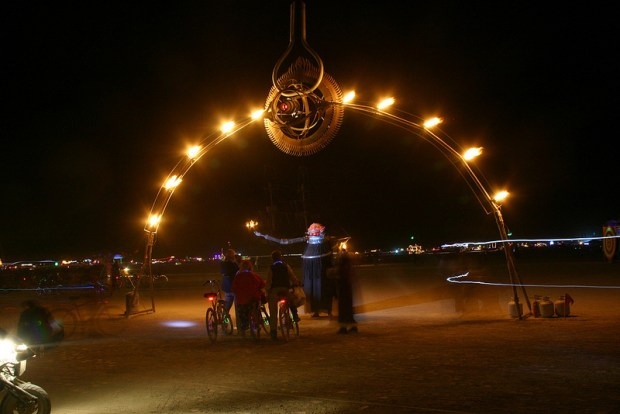 The Numinous Eye at Burning Man