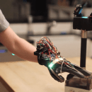 Our Journey in Building a Glove-Controlled Robotic Gripper