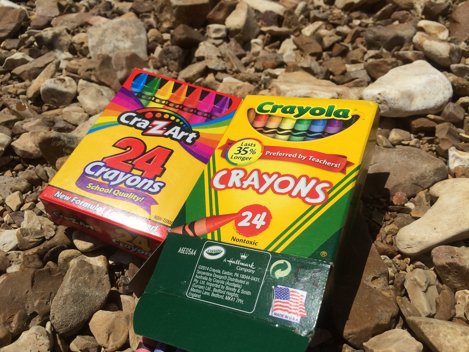 Crayola v Generic: Melting Crayons for Science