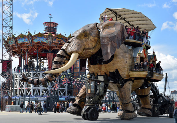 Grand Eléphant. Les Machines de l'île. Nantes © Jean-Dominique Billaud / LVAN