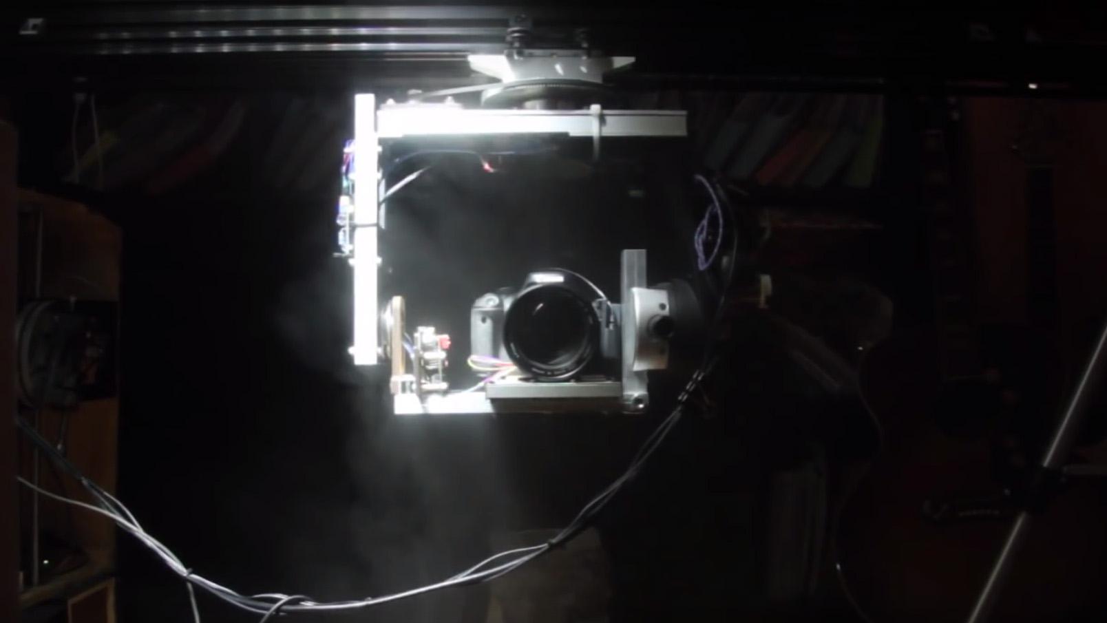Building a Robotic Video Camera Rig Fit for a Studio