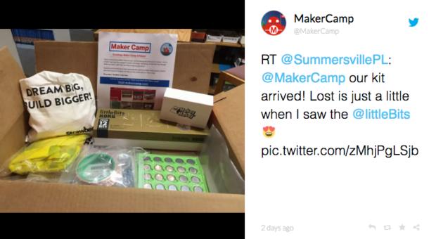 Summersville Public Library Maker Camp