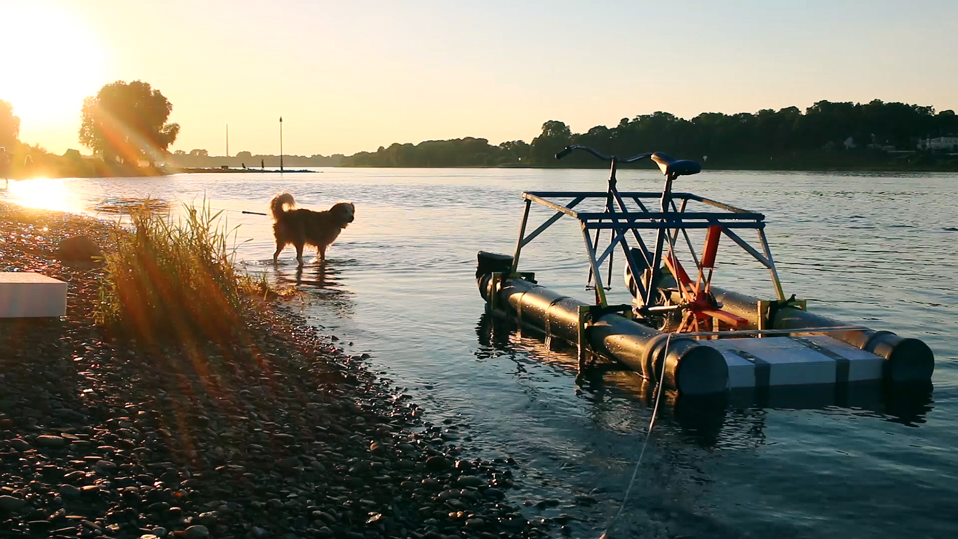 Laura Kampf Builds a Bike You Can Ride on Water