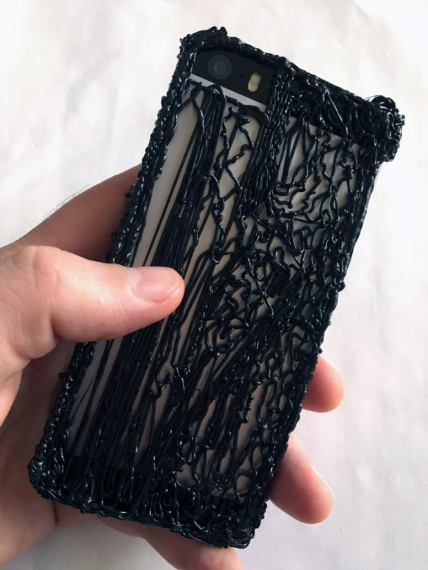 My new 3Doodled phone case! Photo: Andrew Salomone.