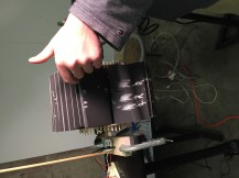 Arduino-controlled flip book, made by Grinnell students, Grinnell, Iowa