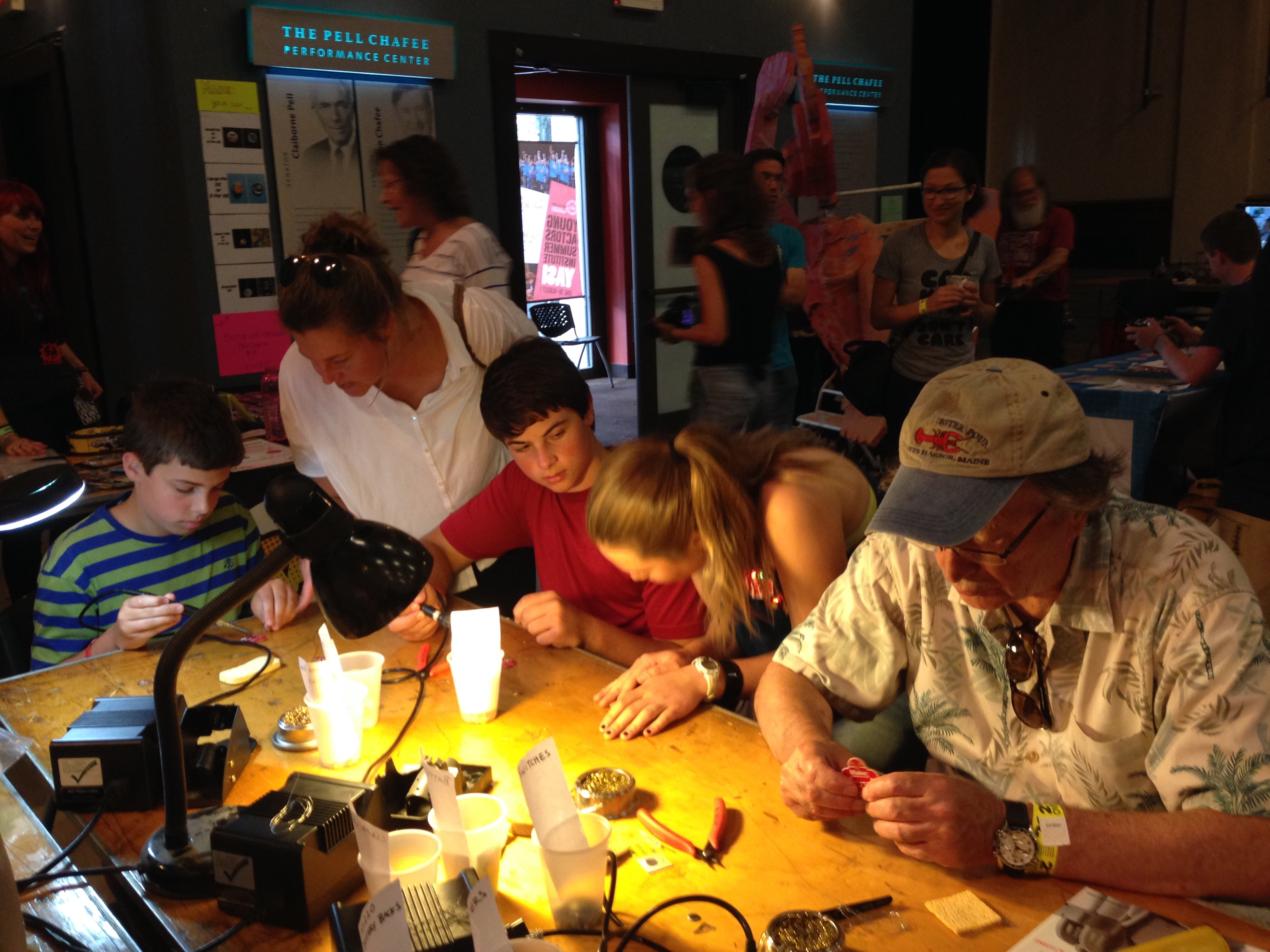 2015 RI Mini Maker Faire Photo by Mary Johnson