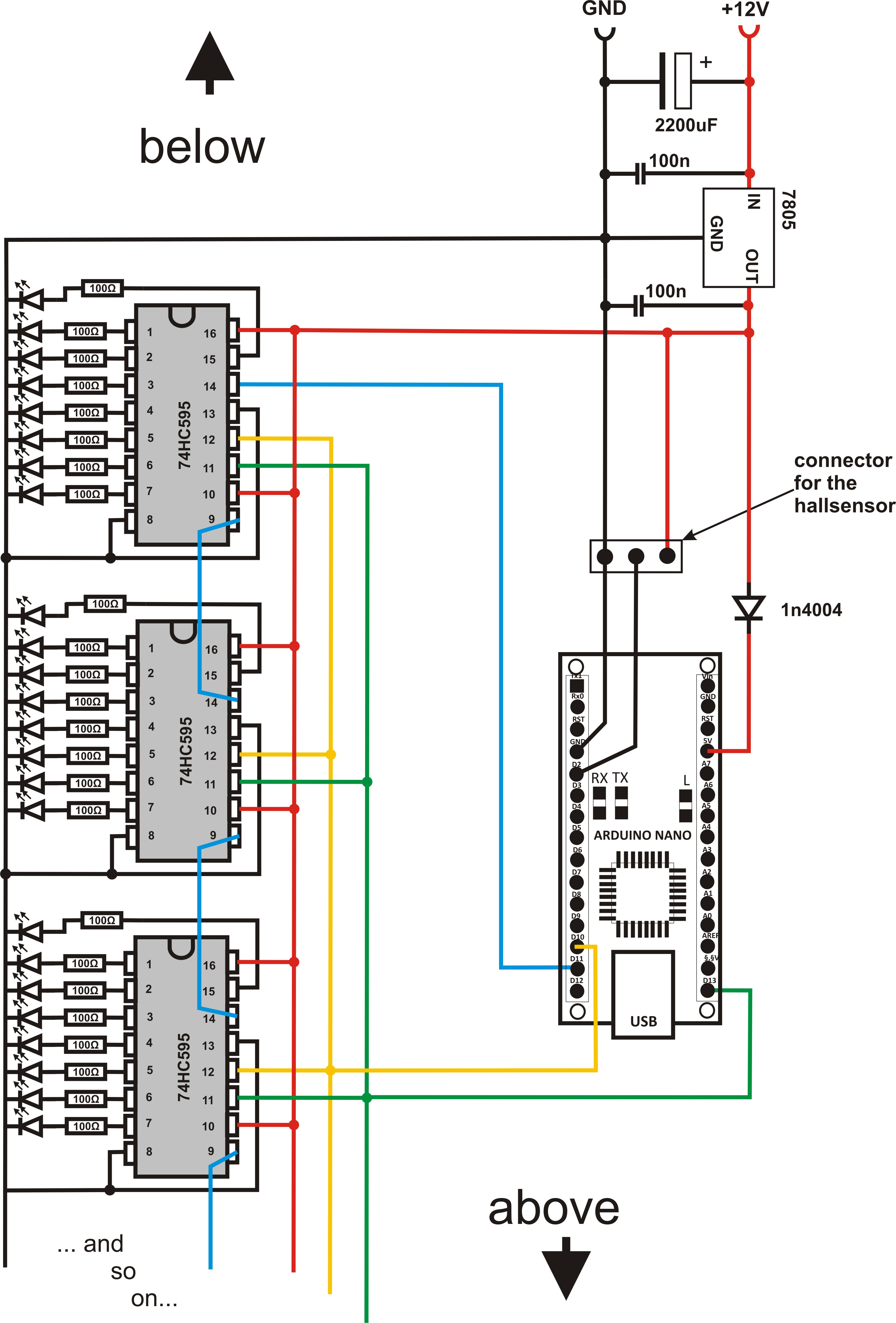 Fantastisch Lichtleiterschaltplan Für Versorgungswagen Ideen ...