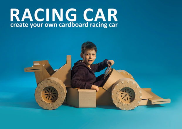 Upgrade Your Cardboard Car with Downloadable Templates | Make: