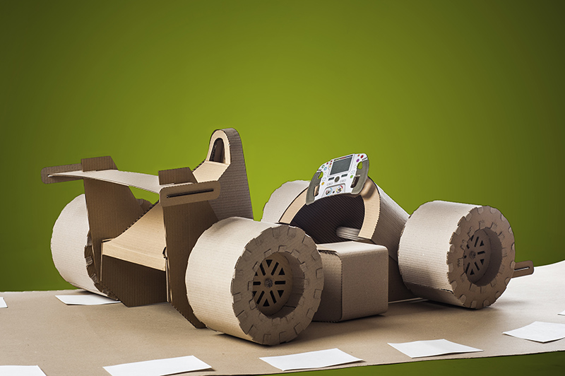 Upgrade Your Cardboard Car with Downloadable Templates