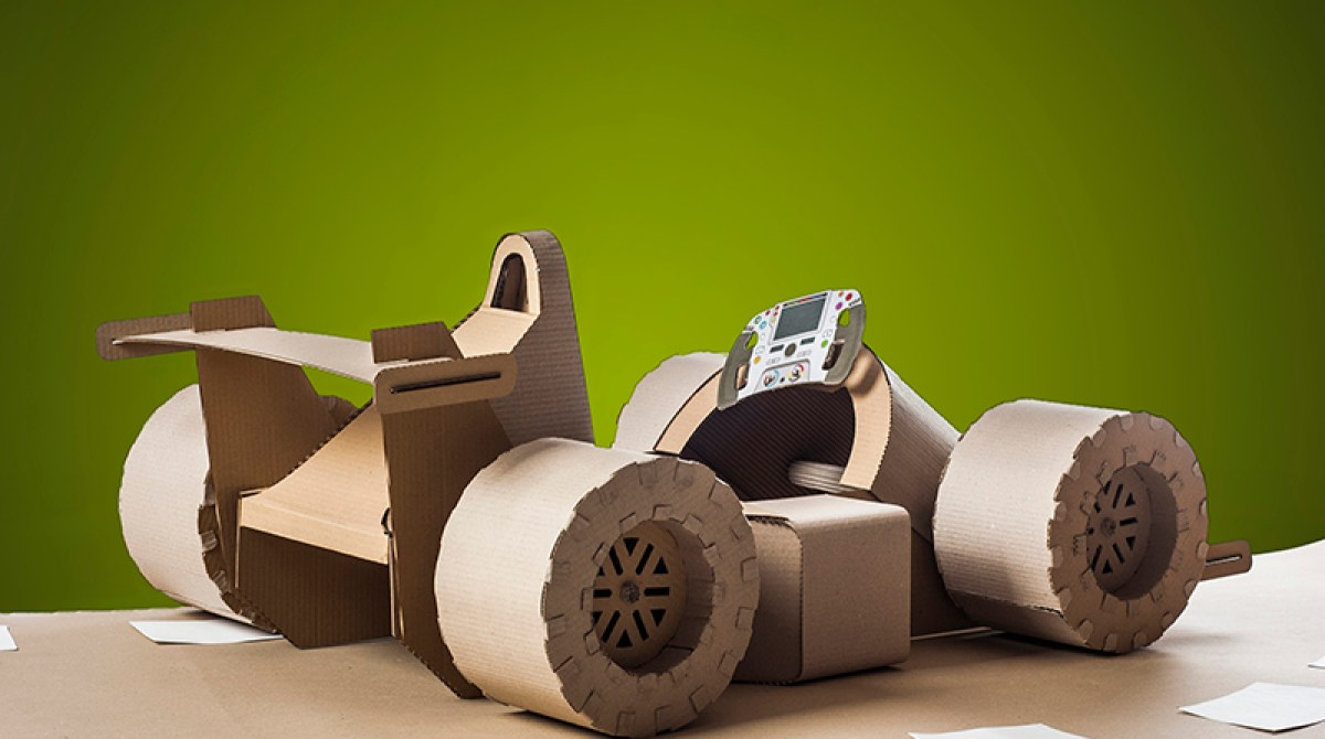 Upgrade Your Cardboard Car With Downloadable Templates Make