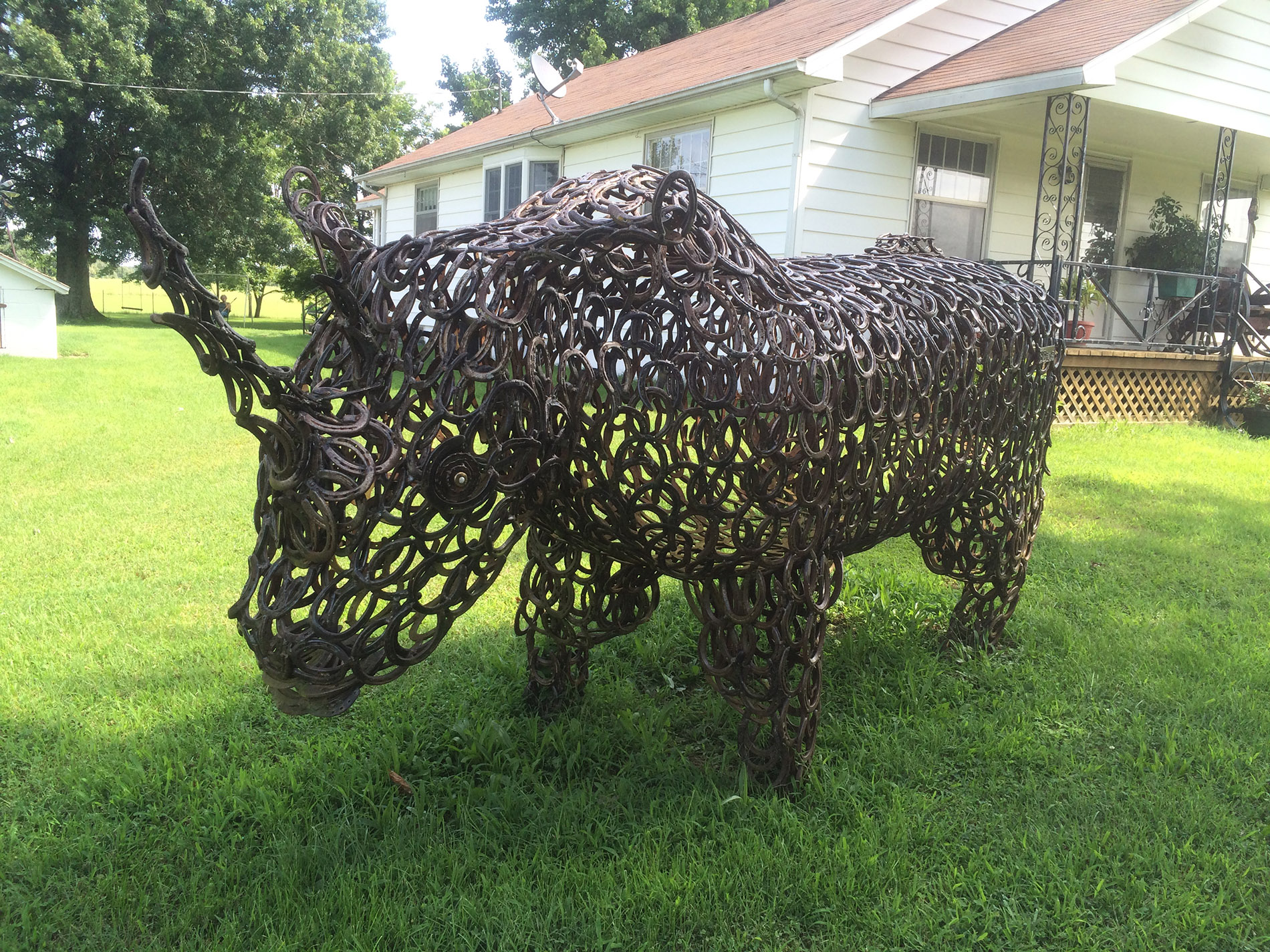 Bill Domby's Metalwork Menagerie