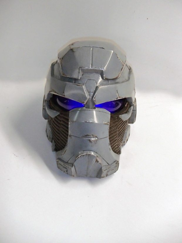 2-1. A helmet made out of paper