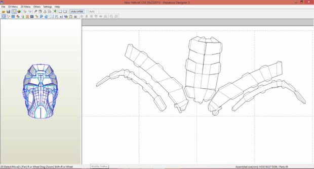 Build Props and Costume Armor with Paper, Pepakura, and