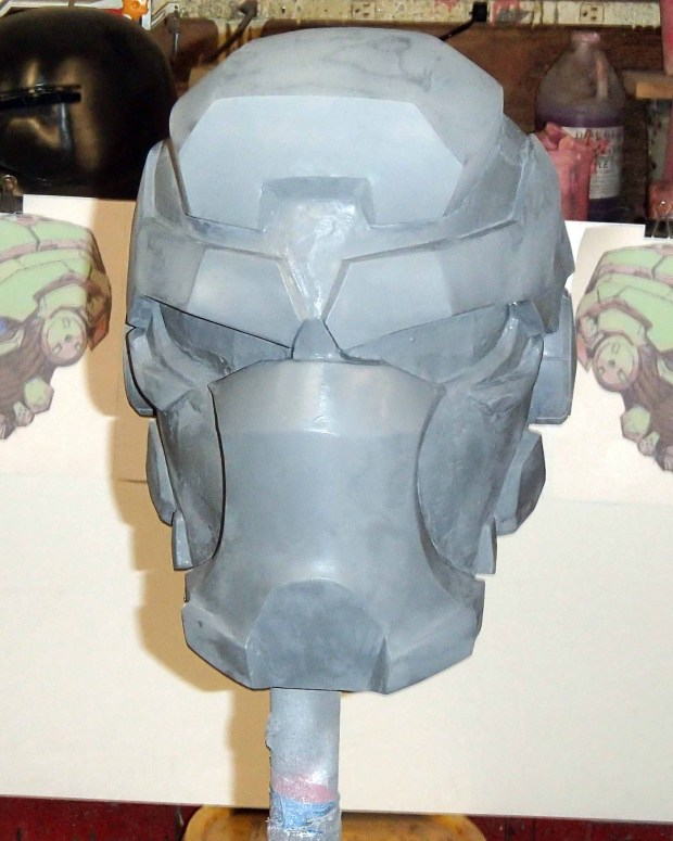 FIGURE 2-50. A coat of gray primer, the great revealer
