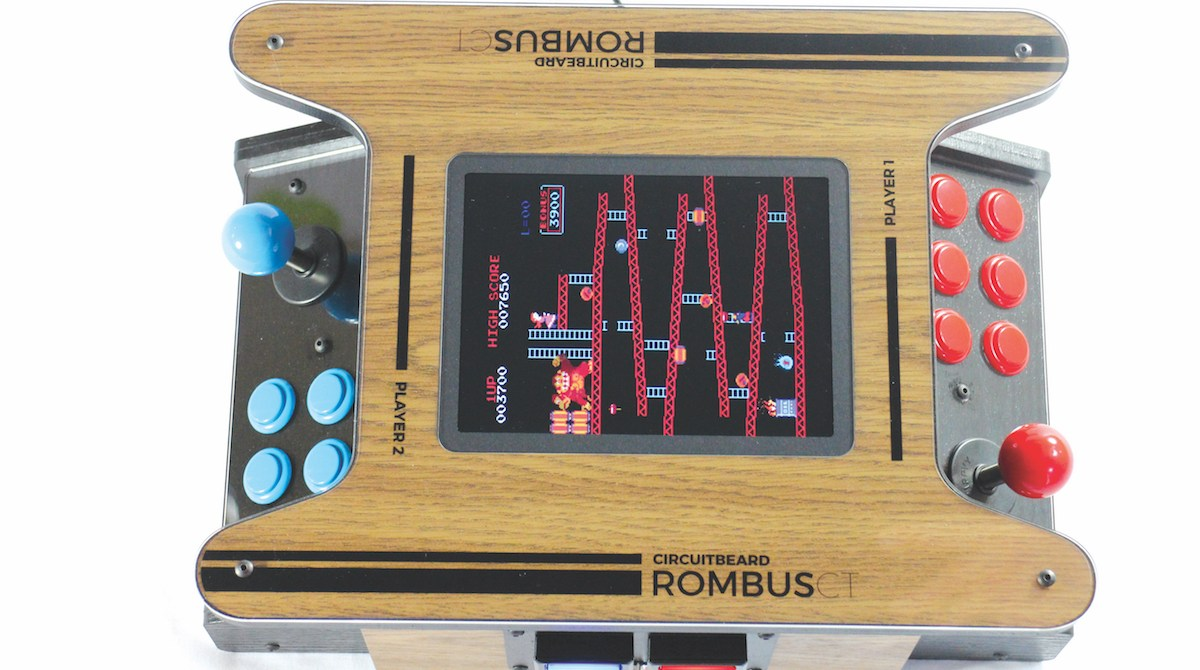 This Two-Player Mini Arcade Is Powered by Raspberry Pi | Make: