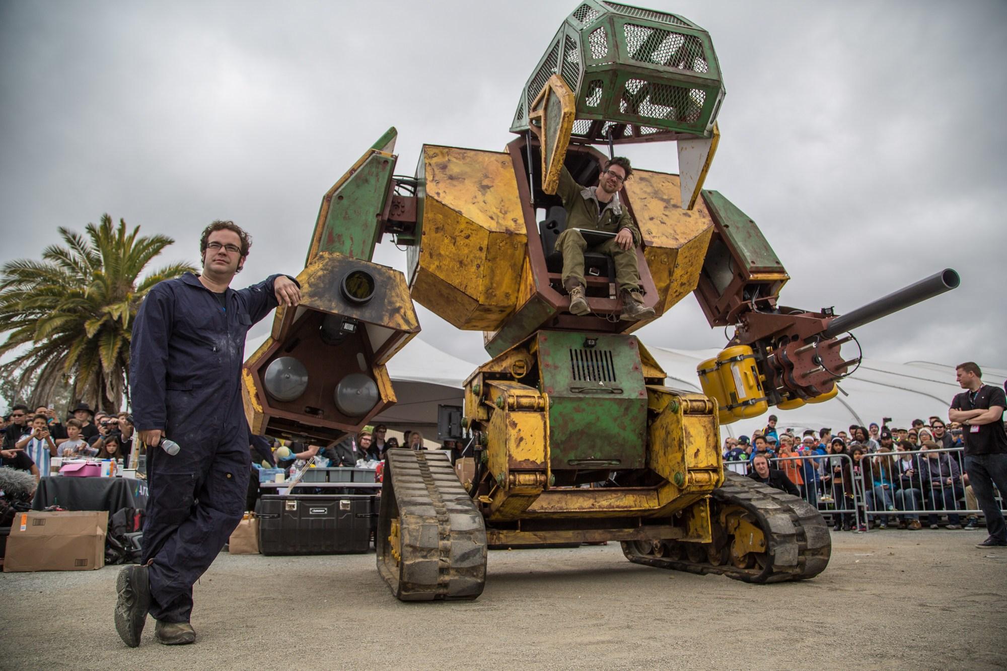 "MegaBots Announces ""Robot Upgrade"" Video Series"