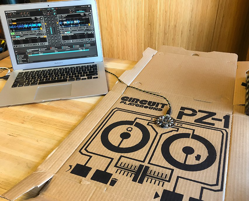 Making a Pizza Box MIDI Controller with Conductive Paint