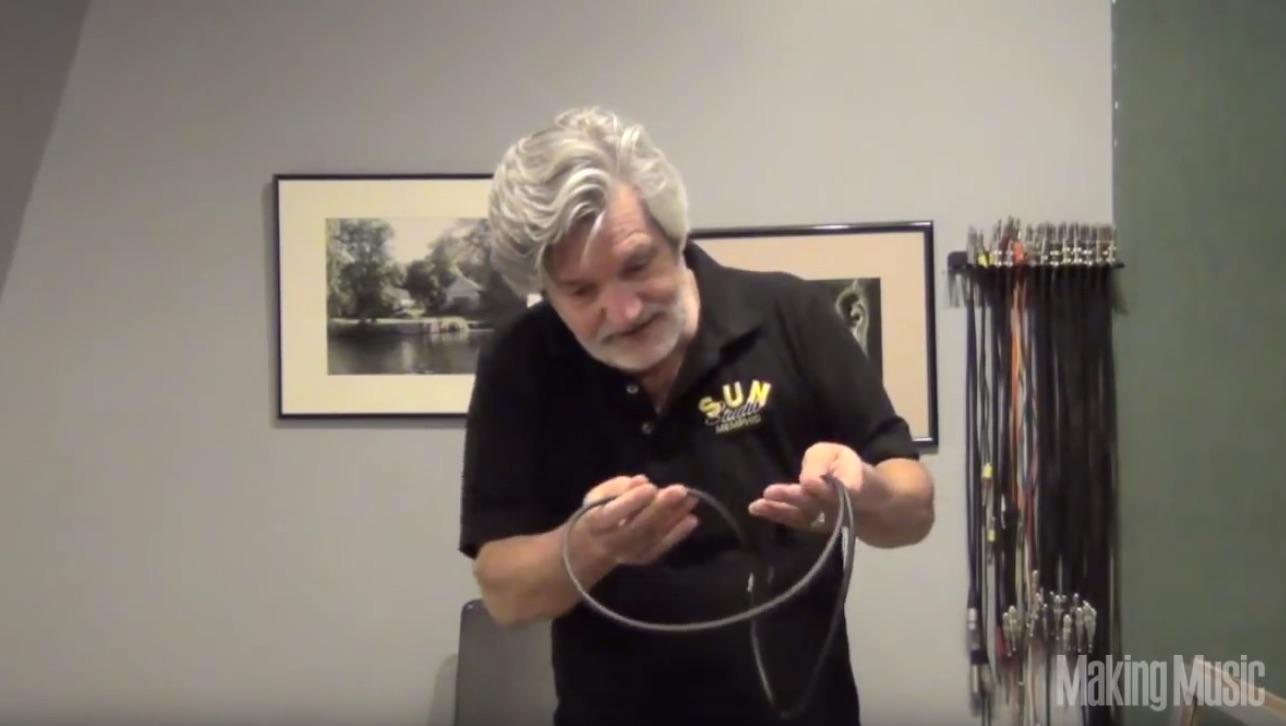 "Quick Tip: Cable Bundling via the ""Roadie Wrap"""