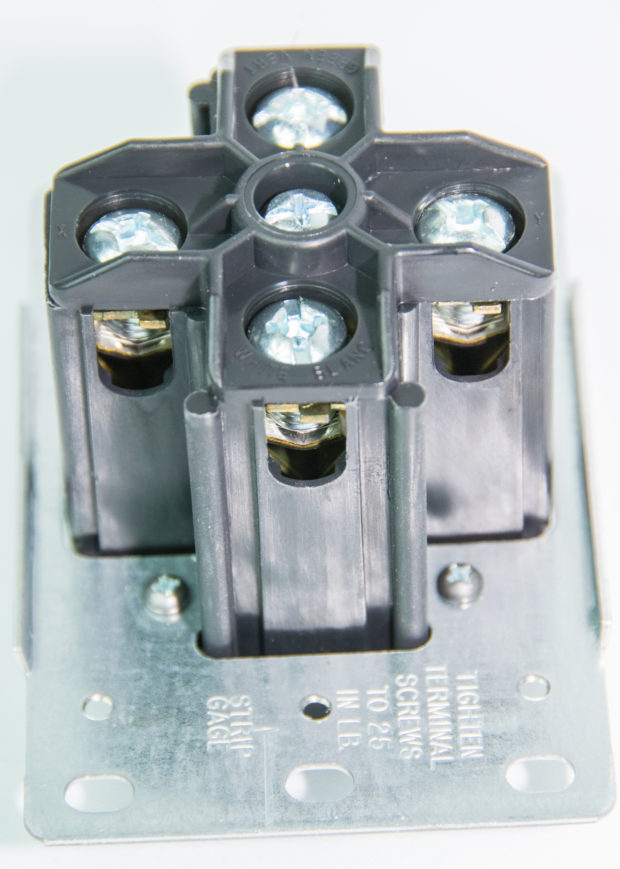 Figure 17 – Screw Terminals on the back of the 14-50R
