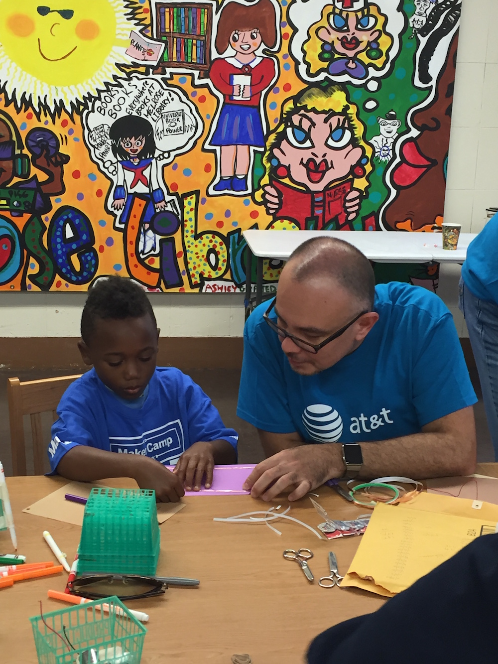 A Moving Visit to Maker Camp