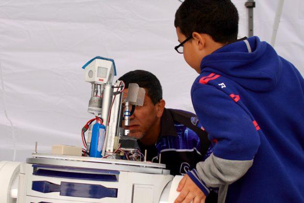Fixing R2-D2. (Saturday 16:37, Alasdair Allan)