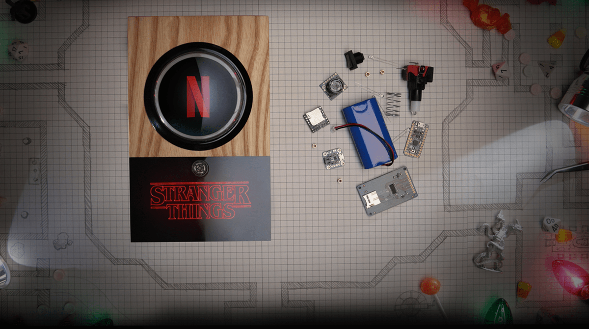 The Netflix Halloween Doorbell Tends to Trick Or Treaters So You Can Relax