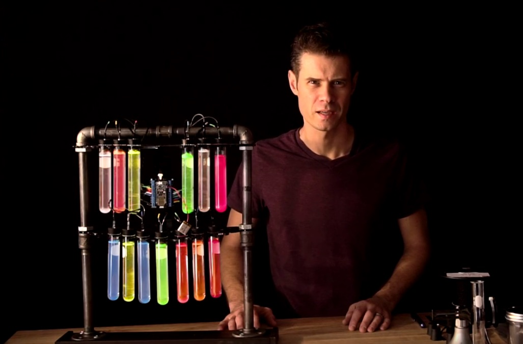 Make a Computer-Controlled Mad Scientist Test Tube Rack