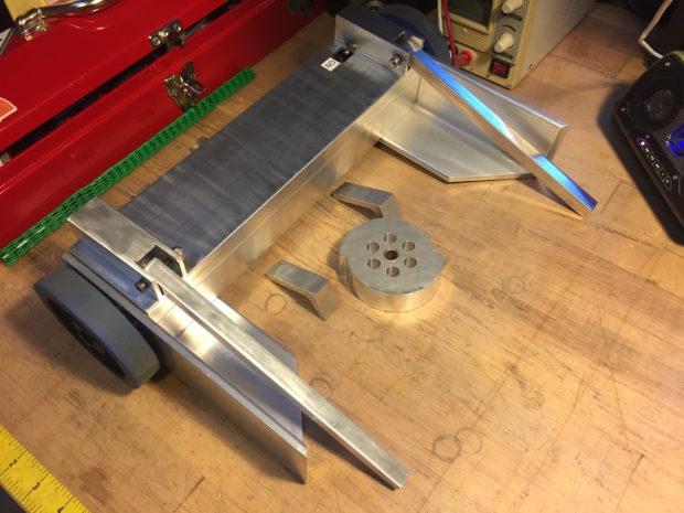 Progress shot of the Mini Tento