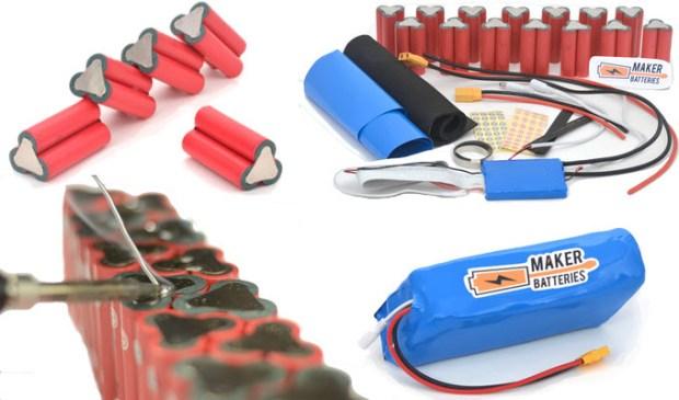 maker batteries kit items